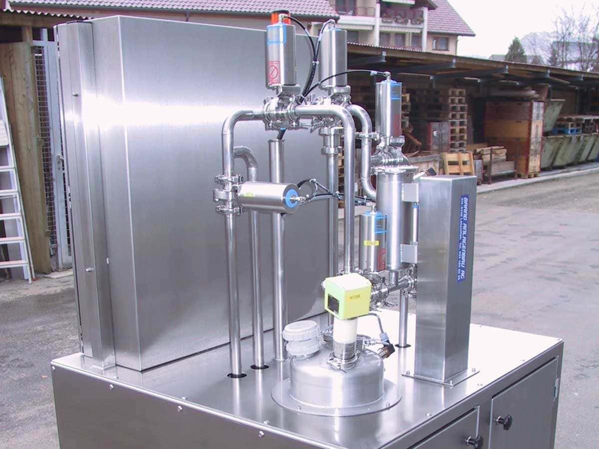 Behälter- und Apparatebau | Brand Anlagenbau AG