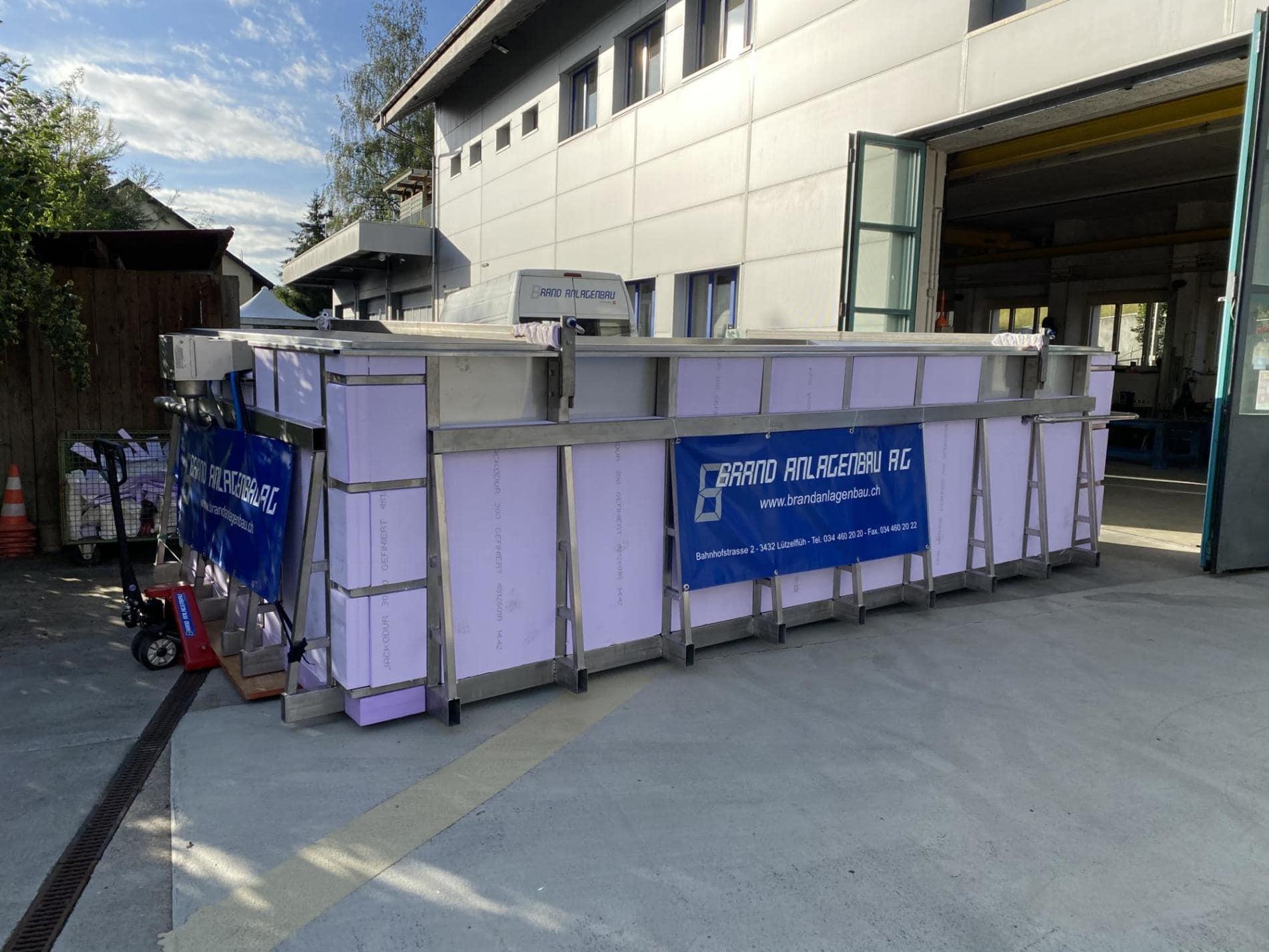 Edelstahlpool | Brand Anlagenbau AG