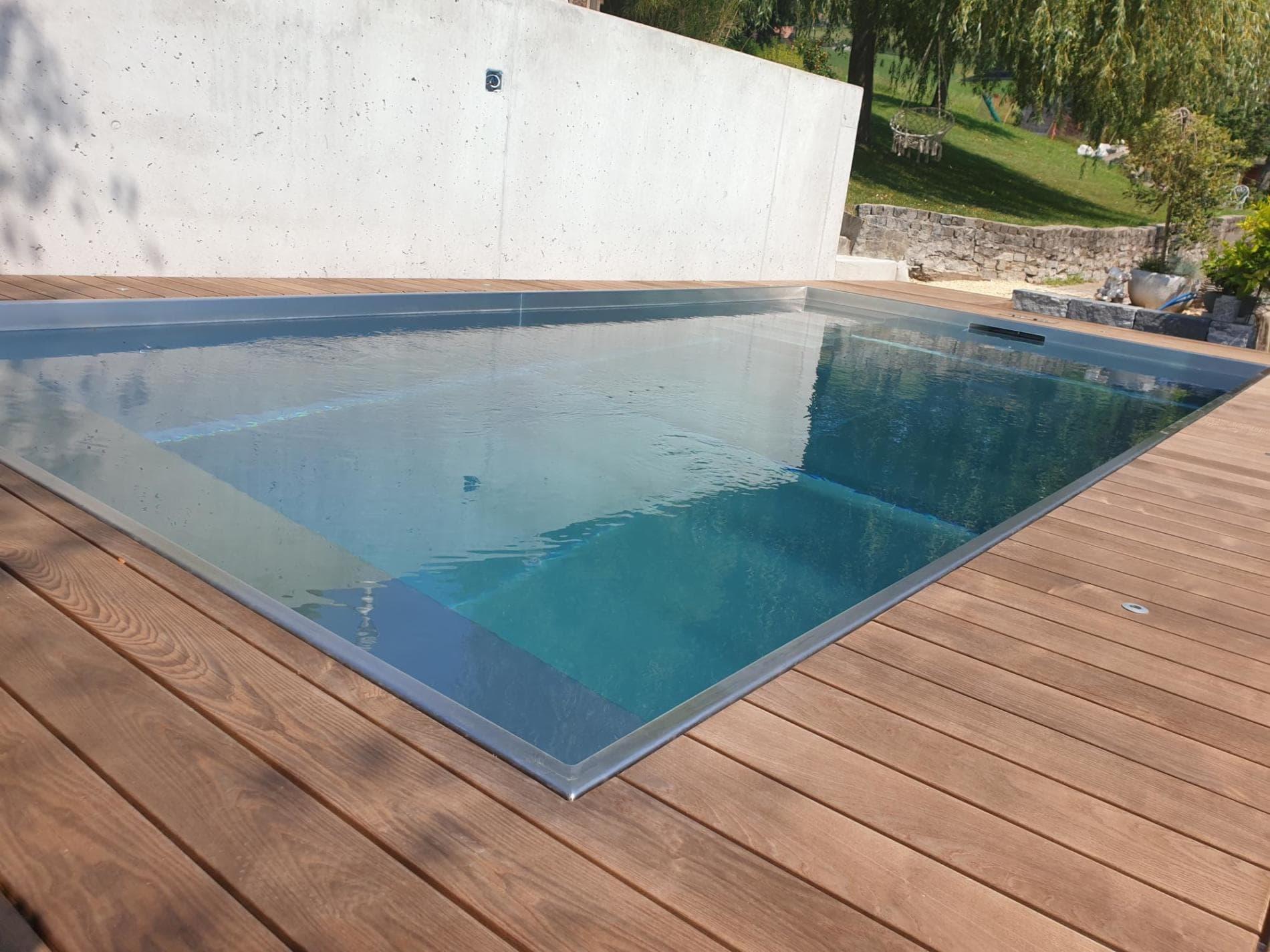 Edelstahl Pool | Brand Anlagenbau AG